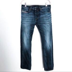 {DIESEL} Safado Regular Slim Straight Jeans 32